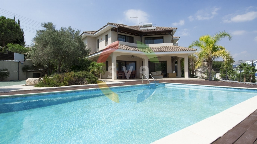 House Villa for Sale in Agios Tychonas